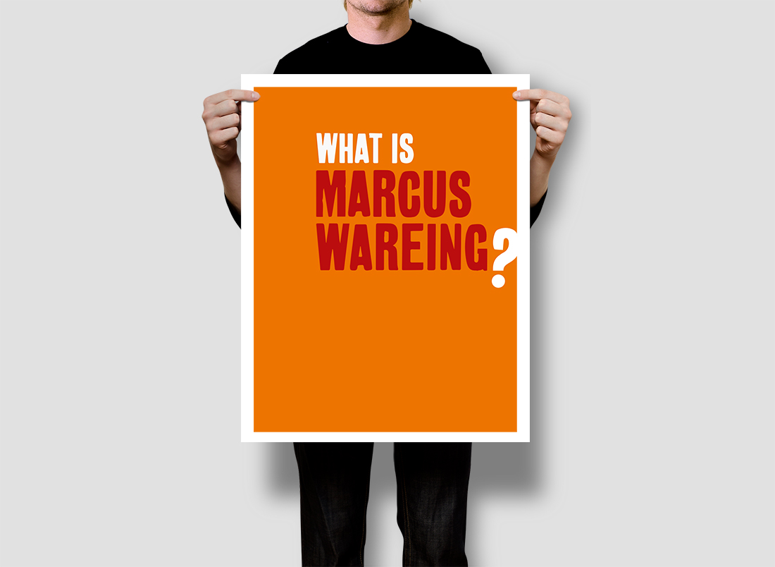 what is MARCUS WAREING?